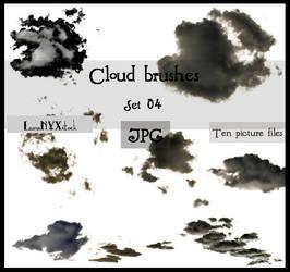 Cloud brushes - set 04 - JPG