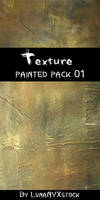 Painted texture, pack - 01 by LunaNYXstock