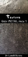 Grey metal, pack 01
