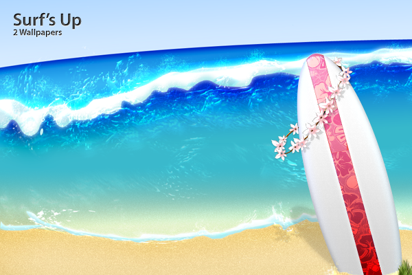 Surf's Up by Flarup