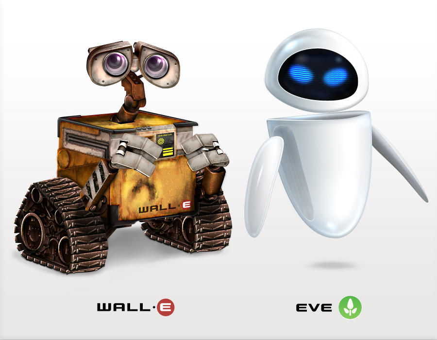 WallE and EVE Icons by Flarup on DeviantArt