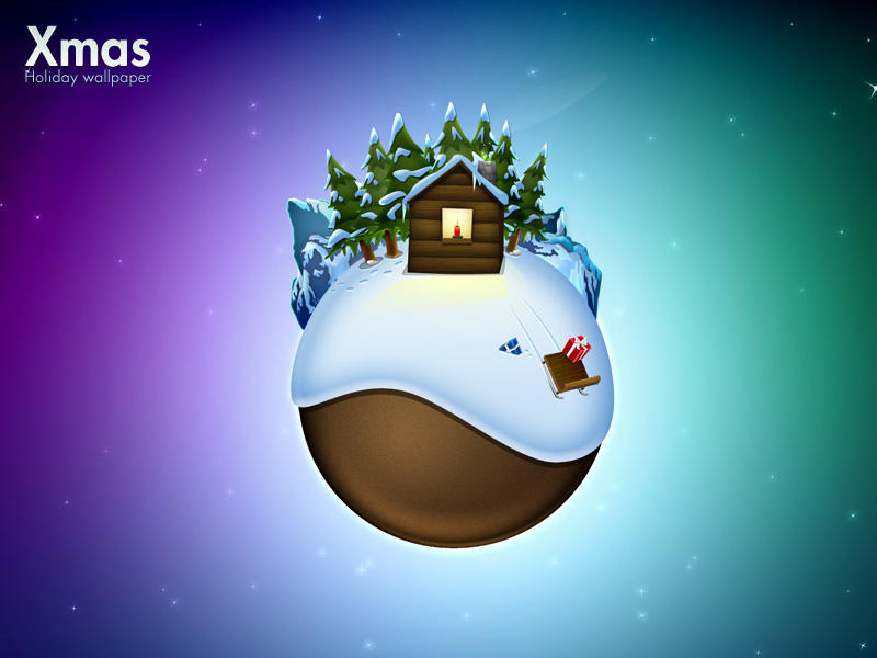 Xmas, Holiday Wallpaper by Flarup