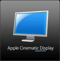 Apple Cinematic Display by Flarup