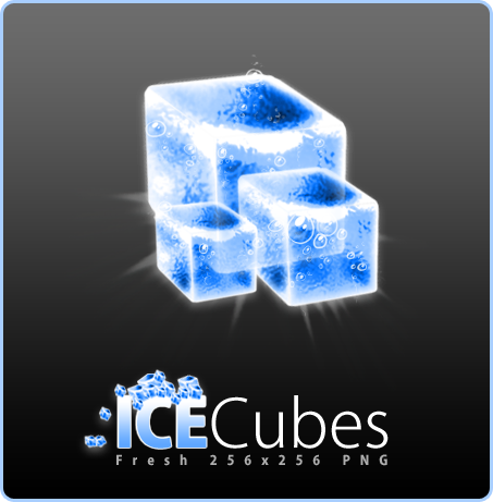 Ice Cubes by Flarup