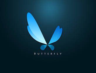 Butterfly Logo design by JhadCreatives