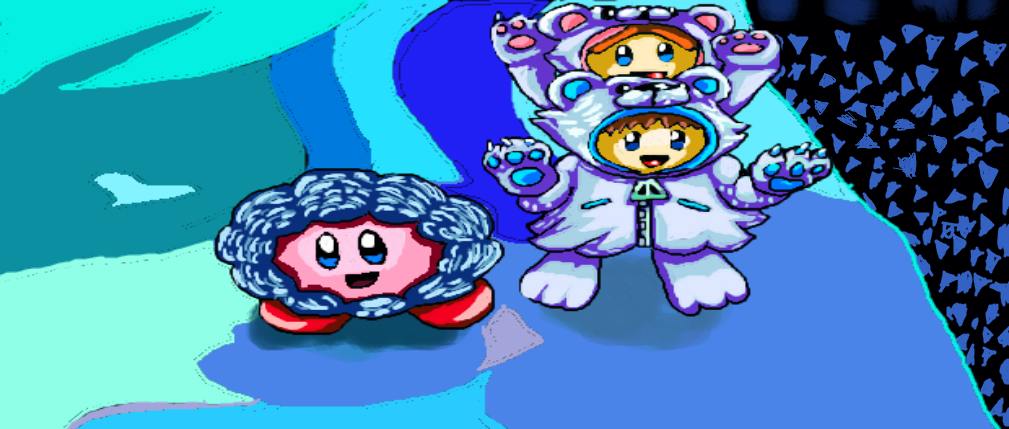 Kirby and the Ice Climbers by 357Sneak