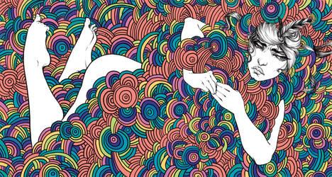 Colorful Waters Album Design