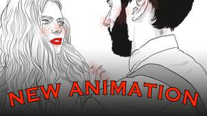 Awkward Meetings Rotoscope Animation