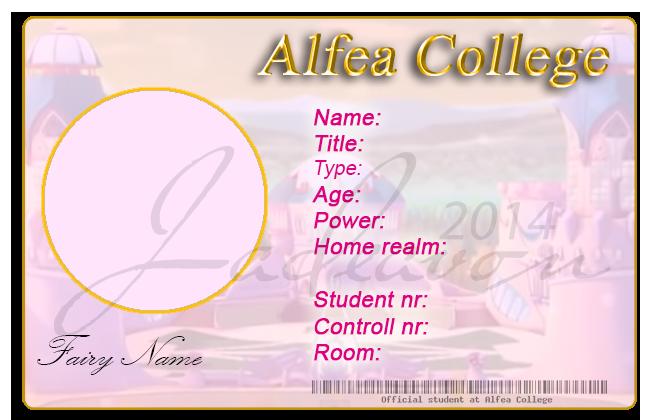 alfea college id template by jadeavon on deviantart