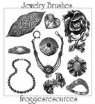 Assorted Jewelry Brushes