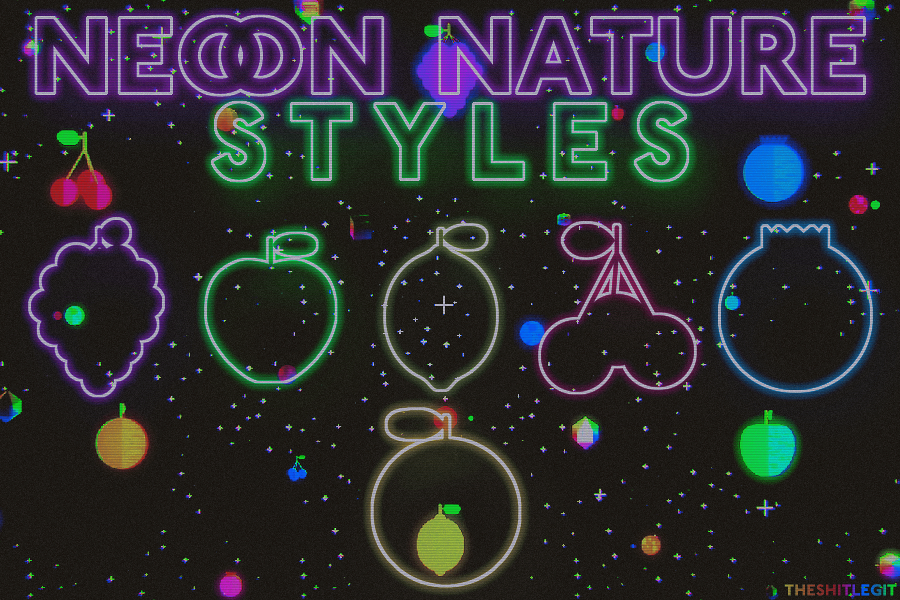 + NEON NATURE - STYLES by THESHITLEGIT