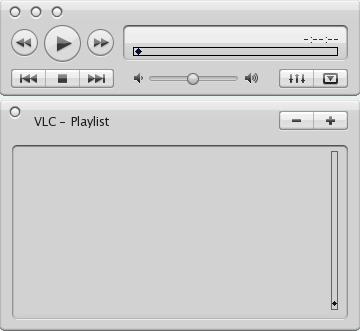 Cerebro VLC Skin by zondajag