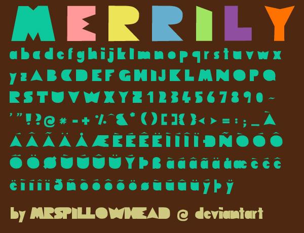 Merrily by mrspillowhead