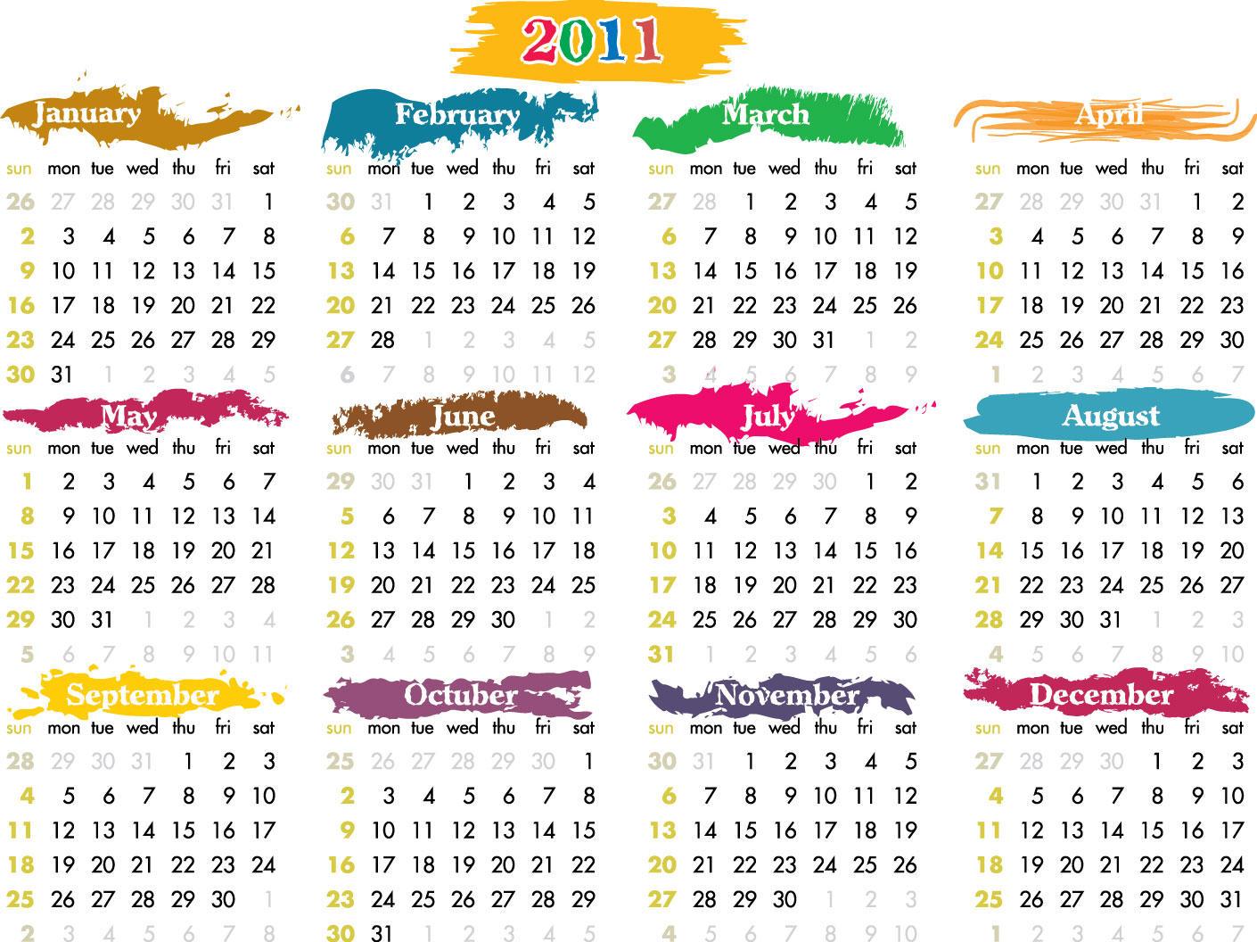 Calendar 2011 by AymanHadramot on DeviantArt