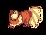 Flareon - Tail whip ANIMATION