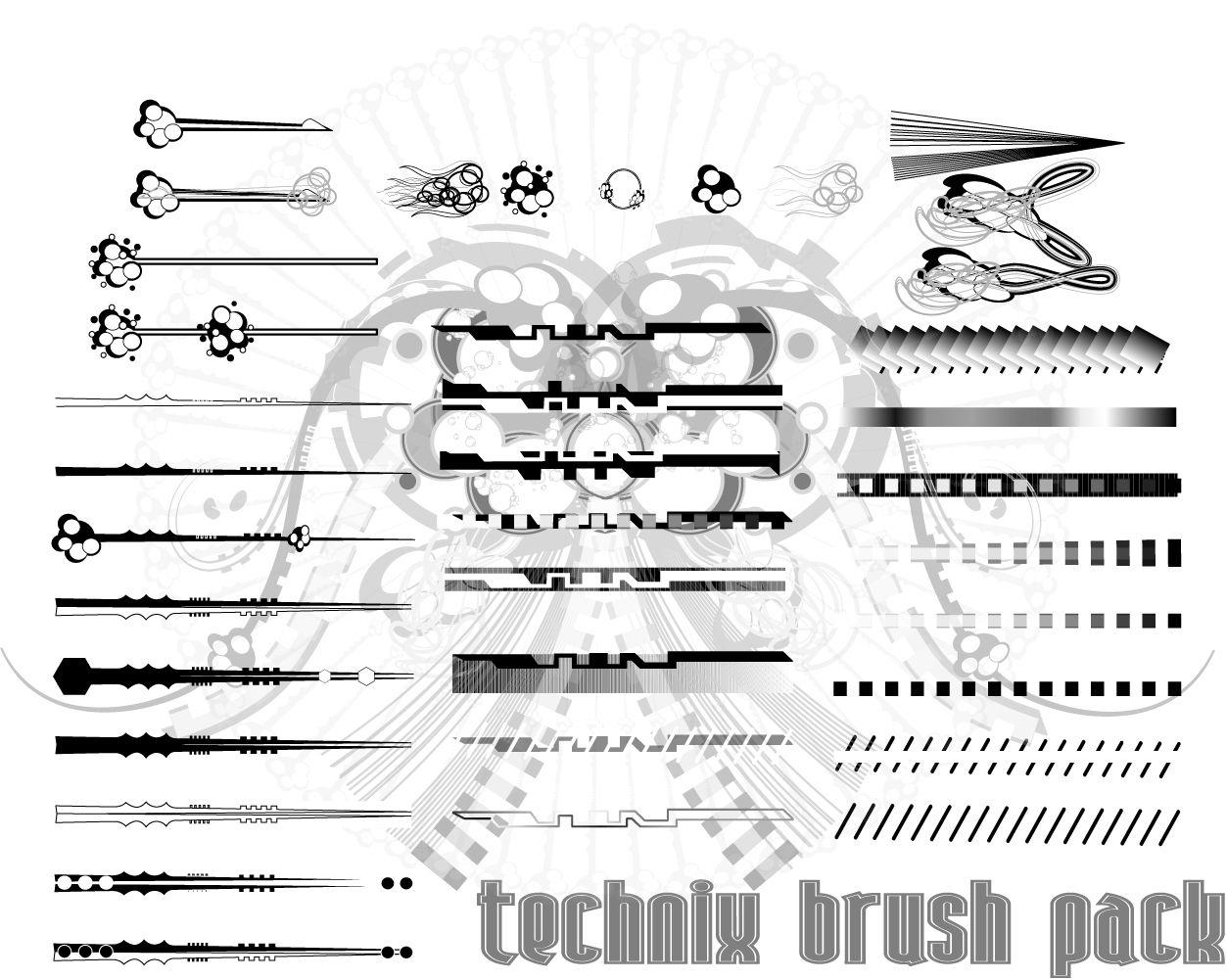 technix brush pack by r2010