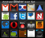Android Blister Icon Set