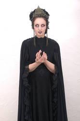 Stock - Dark sorceress art nouveau gohtic spell by S-T-A-R-gazer
