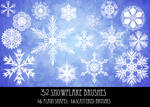 Snowflake Brushes 1