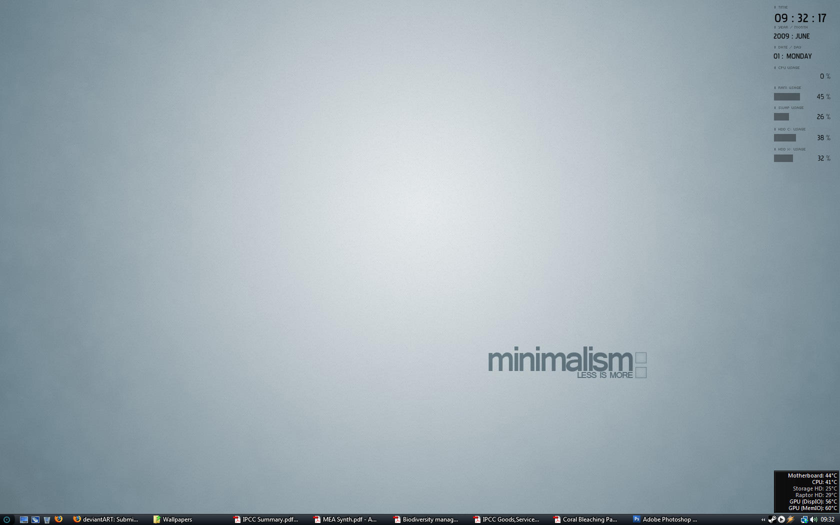 Minimal Wallpaper by G-Weaver