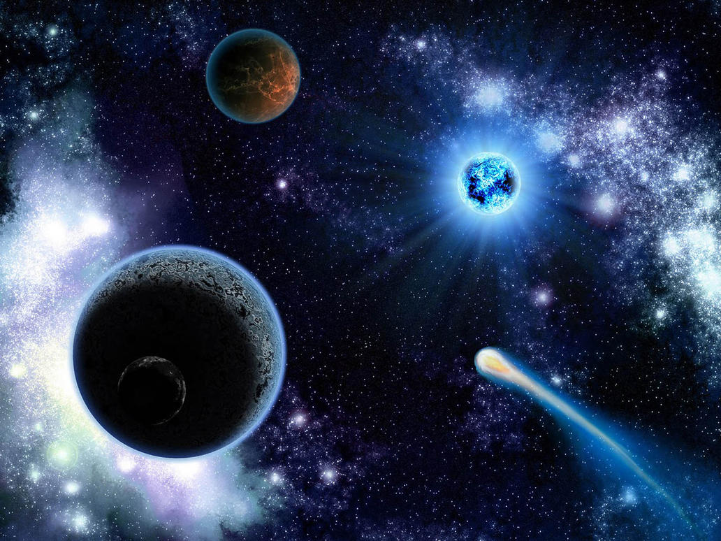 outer space planets - HD1200×800