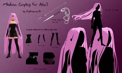 Aiko3 Medusa Cosplay