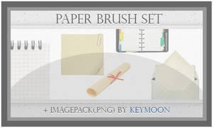 Paper Brushes Set + Imagepack
