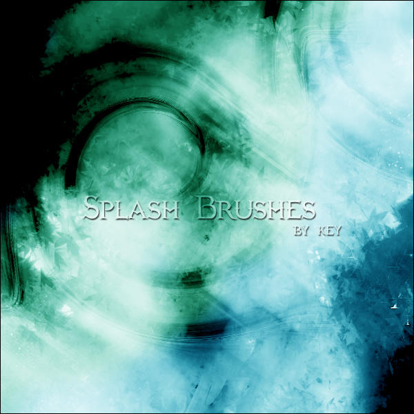 Splash Brushes by KeyMoon