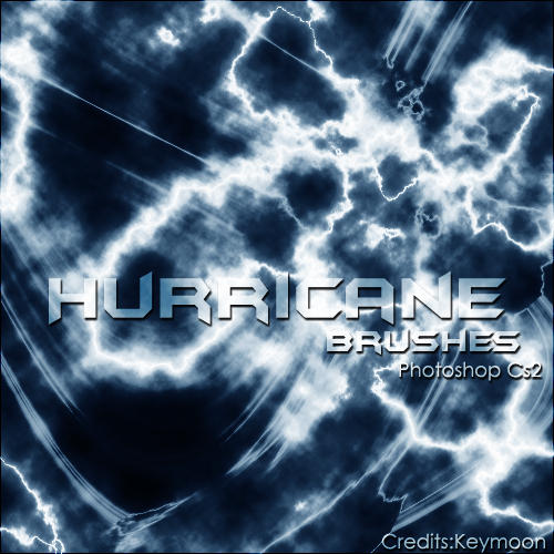 Hurricane Brushes by KeyMoon