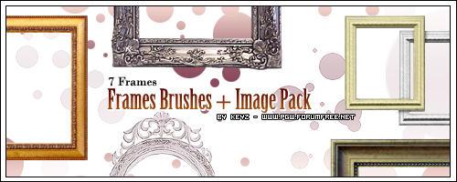 Frames Brushes + ImagePack