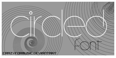 CircleD_Font