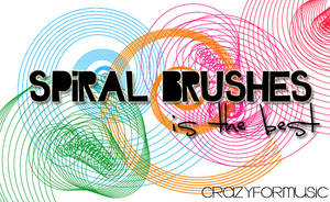 Spiral Brushes, by CrazyForMusic