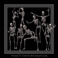 skeletts by Twins72-Stocks