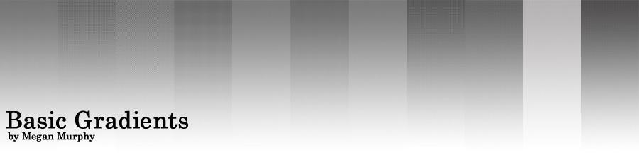 Basic Gradient Tones by MechaBerry