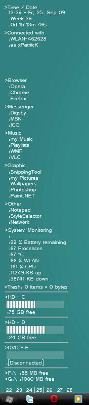 Deskbar 2.0 by Suicidebanana