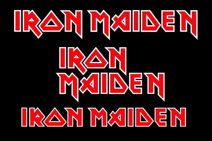 Iron Maiden Logos By Juanmaggot666