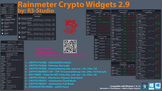 R3-Studio Crypto Widgets 2.9