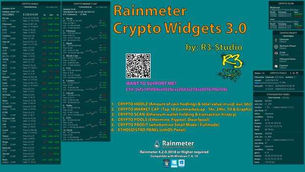 R3-Studio CryptoWidgets 3.0