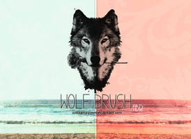 Wolf Brush by WalkerLegger