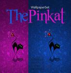 ThePinkat Wallpaper Set