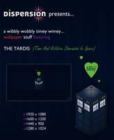 Sexy TARDIS Wallpaper