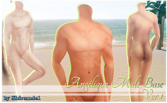 Angelic Male Base_Ver. 1 for MMD Download