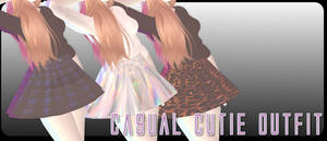 Casual Cutie Outfit - MMD Download