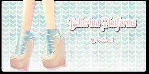 Ballerina Platforms - MMD Download