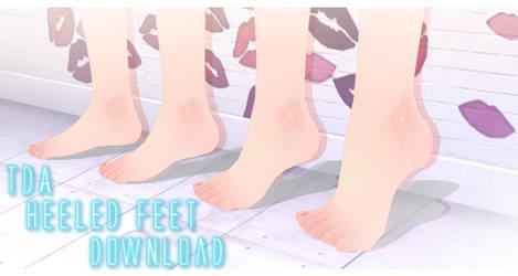 TDA Heeled Feet - MMD Download [+Update v3!]