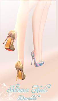 Shimmer Heels - MMD Download
