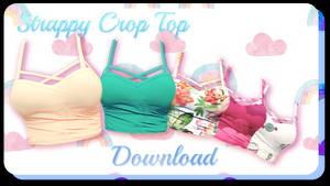 Strappy Crop Top - MMD Download
