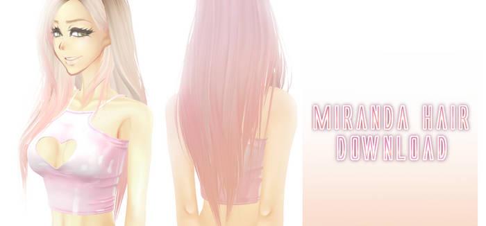 Miranda Hair - MMD Download