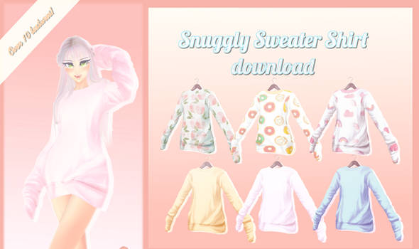 Snuggly Sweater - MMD Download