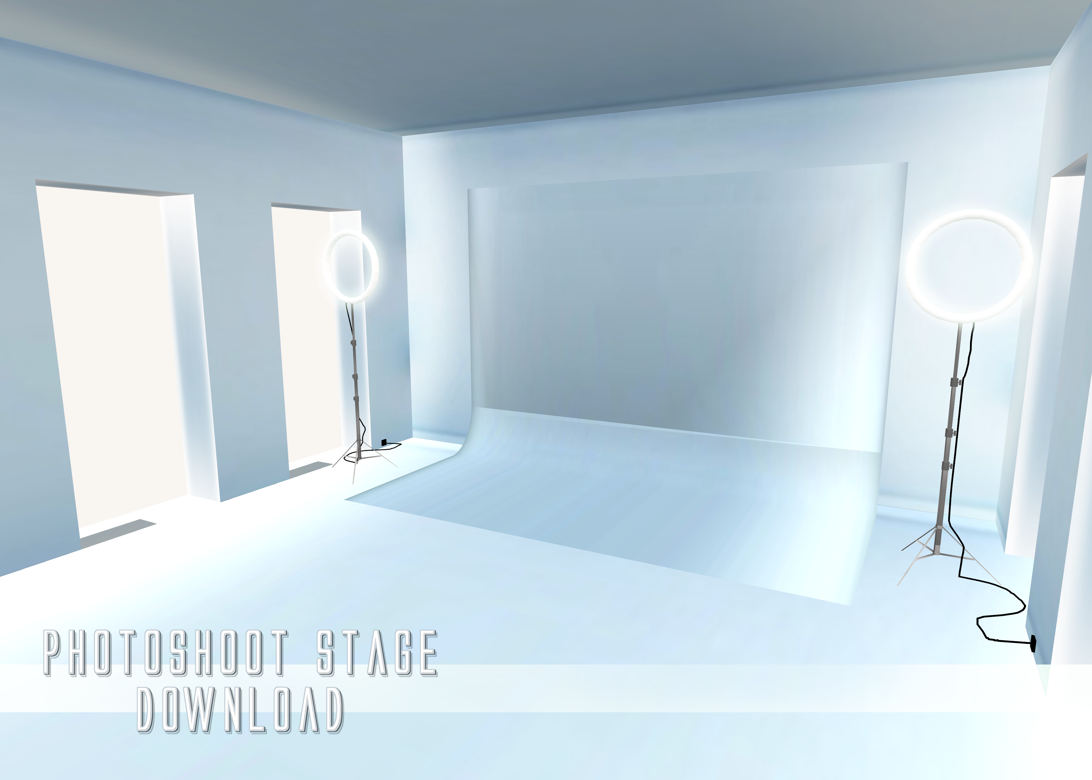 Photoshoot Stage - MMD Download